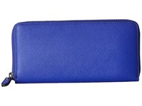 Ecco Iola Large Zip Wallet Blue Hour Wallet Handbags