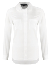 French Connection Polly Plains Blouse Summer White Off White