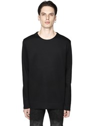 Diesel Black Gold Neoprene Effect Sweatshirt