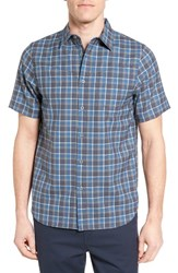 Ibex Men's Trip Sport Shirt Seaport Plaid
