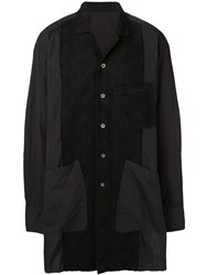 The Viridi Anne Long Textured Shirt Black