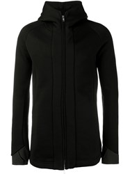 The Viridi Anne Thumb Hole Hoodie Black