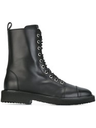 Giuseppe Zanotti Design 'Chris' Military Boots Black