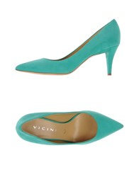 Vicini Footwear Courts Women Light Green