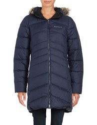 Marmot Montreal Quilted Coat Blue