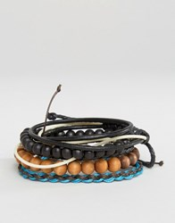 Classics 77 Beaded And Cord Bracelet Pack Multi
