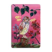 Avenida Home Nathalie Lete Cutting Board Owl