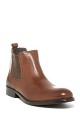 Joseph Abboud Paxton Lace Up Boot Brown