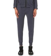 The Kooples Skinny Jersey Jogging Bottoms Blue