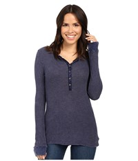 Project Social T Layer Me Thermal P. Moody Blue Women's Sweatshirt