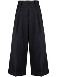 Twin Set Cropped Wide Leg Trousers 60