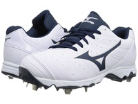 Mizuno 9 Spike Advanced Sweep 2 White Navy Women's Cleated Shoes