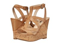 Guess Harlea Tan Synthetic Women's Wedge Shoes