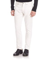 Ralph Lauren Purple Label Slim Fit Jeans White