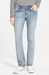 Volcom '1991' Straight Leg Jeans Matured Blue
