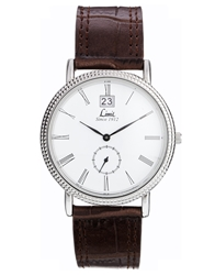 Limit Brown Leather Strap Watch 5503.01