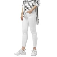 Mango Cropped Skinny Fit Isa Jeans White