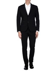 Alessandro Dell'acqua Suits Dark Blue