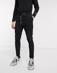 Sixth June Trousers With Buckle In Black