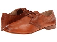 Frye Jillian Oxford Whiskey Soft Vintage Leather Women's Lace Up Casual Shoes Tan