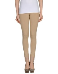 Twin Set Simona Barbieri Leggings Beige