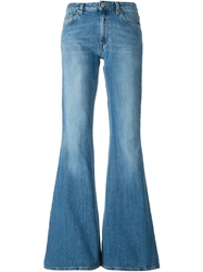 Acne Studios 'Mello' Flared Jeans Blue