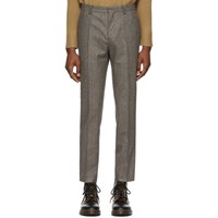 Harmony Brown Houndstooth Peter Trousers