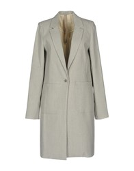 Poeme Bohemien Overcoats Light Grey