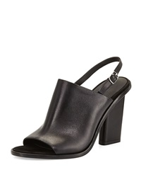 Alexander Wang Cole Leather Slingback Mule Black