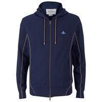Vivienne Westwood Man Men's Tybald Zipped Hoody Navy