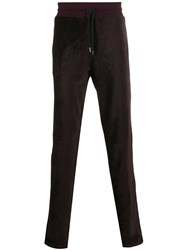 Missoni Side Stripe Velour Trousers 60