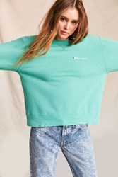 Urban Renewal Vintage Champion Aqua Sweatshirt Assorted