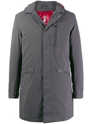 Save The Duck Smeg9 Padded Parka Grey