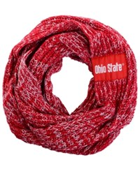 Forever Collectibles Ohio State Buckeyes Peak Infinity Scarf Red