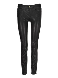 Frame Denim Le Skinny Cropped Pants Black