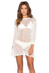 Spell And The Gypsy Collective Slouchy Knit Dress White