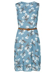 Sugarhill Boutique Evelyn Floral Dress Navy White