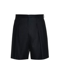 Givenchy Pleat Front Oversized Track Shorts
