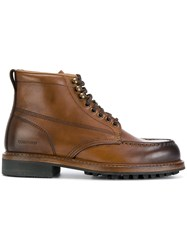 Tom Ford Lace Up Boots Brown