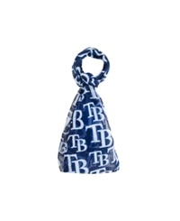 Forever Collectibles Tampa Bay Rays All Over Logo Infinity Scarf Blue