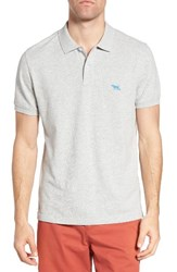 Rodd And Gunn Men's 'The Gunn' Pique Sports Fit Cotton Polo Ash