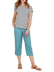 Seasalt Brawn Point Cropped Trousers Wave