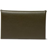 Our Legacy Chorus Leather Bifold Cardholder Army Green