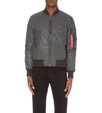 Alpha Ma 1 Vf Reflect Bomber Jacket Anthra