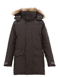 Canada Goose Sherridon Quilted Down Parka Black