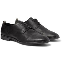 Officine Creative California Leather Oxford Shoes Black