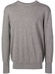 N.Peal The Oxford Sweater Grey