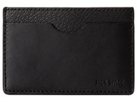 Jack Spade Grant Leather Credit Card Holder Black Credit Card Wallet