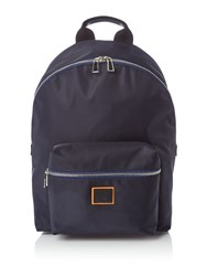Paul Smith Dot Print Backpack Navy