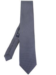 Etro Dotted Pattern Tie Black